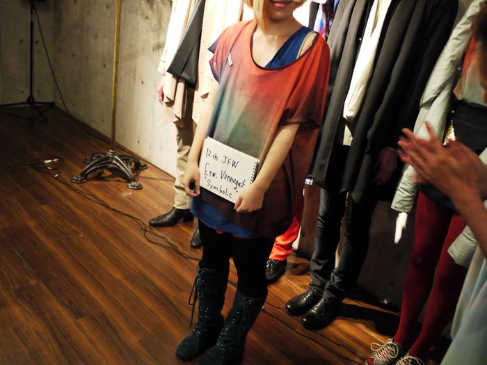 tokyo fashion week etw vonneguet