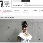 misha janette interviewed by mercedes benz fashion week tokyo 2012