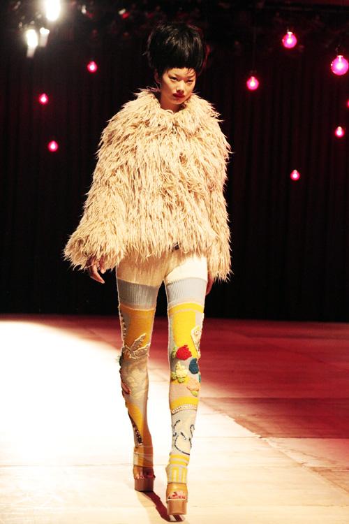 knit tights at nozomi ishiguro fw 2011