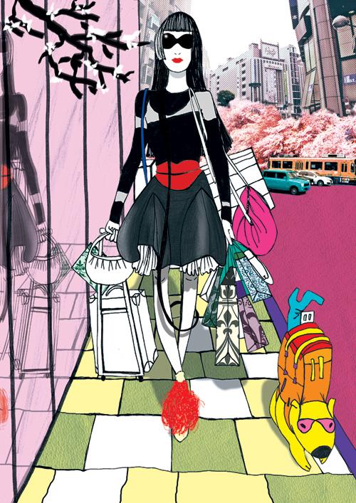 misha janette monday in tokyo by przemek sobocki