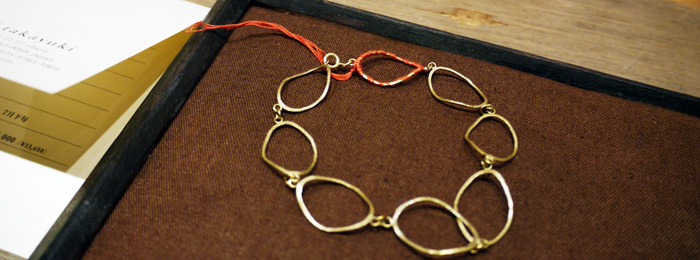 suzuki takayuki AW 2011 bracelet