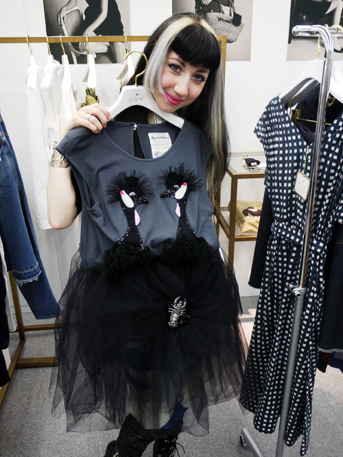 showroom styling for vogue japan MUVEIL