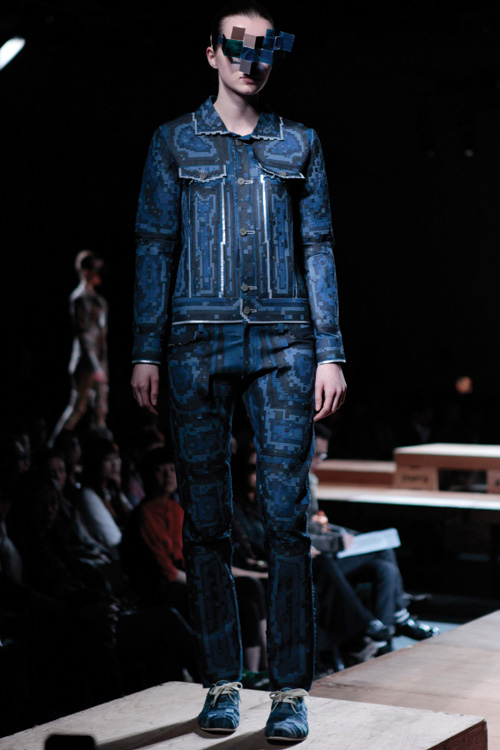 denim laser cut work