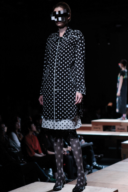 low resolution print coat by anrealage 2011
