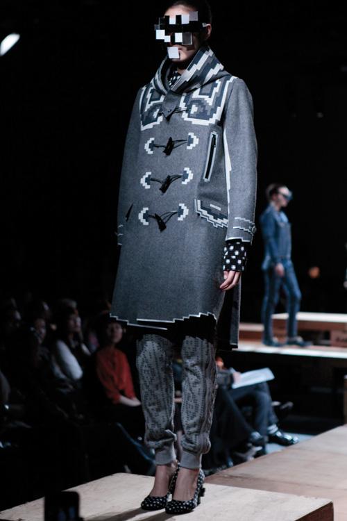 anrealage duffel coat