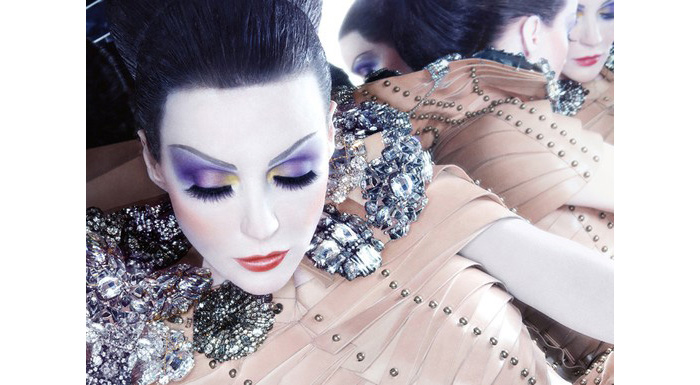 daphne guinness is the face of NARS