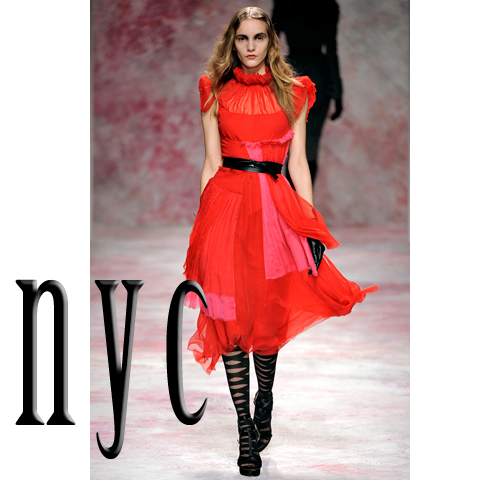 top looks from New york fashion week 2011-2012 fall winter