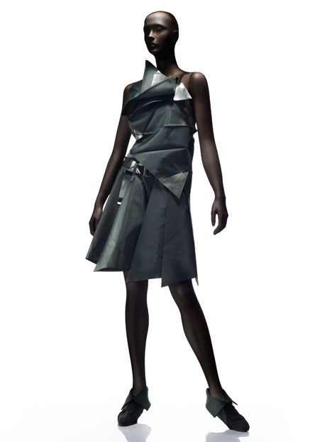on the mannequin issey miyake