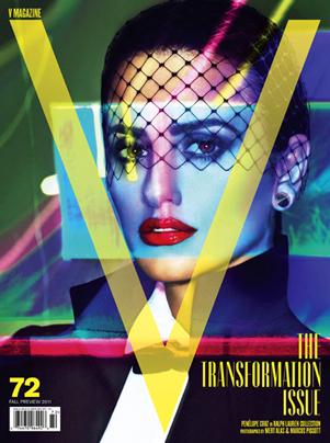 cover of V magazine 72