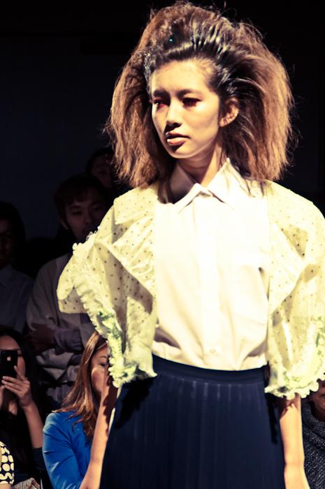 yellow girl jenny fax 2012 ss tokyo fashion week