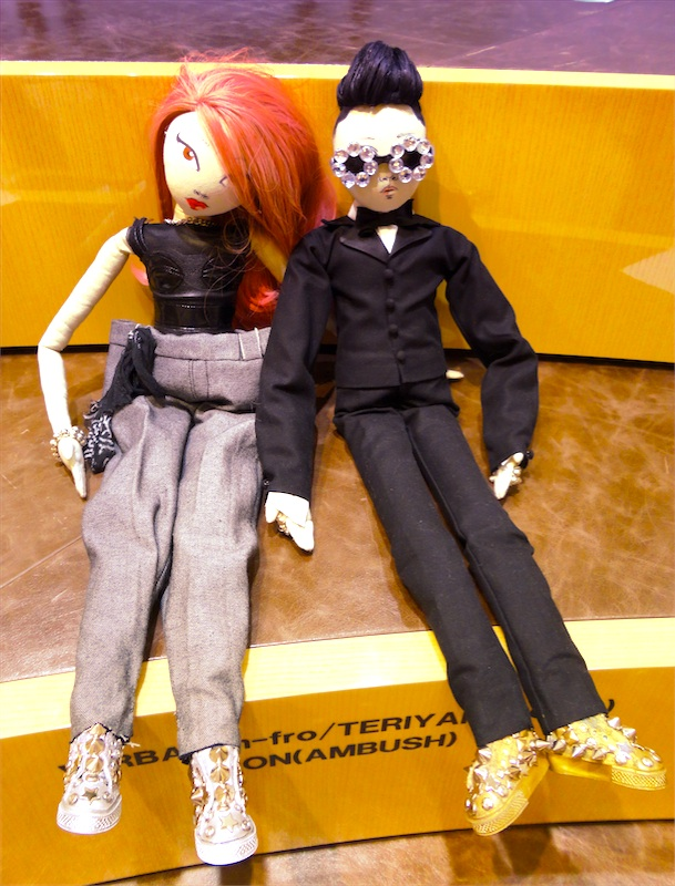 verbal and yoon doll for barneys fukuoka