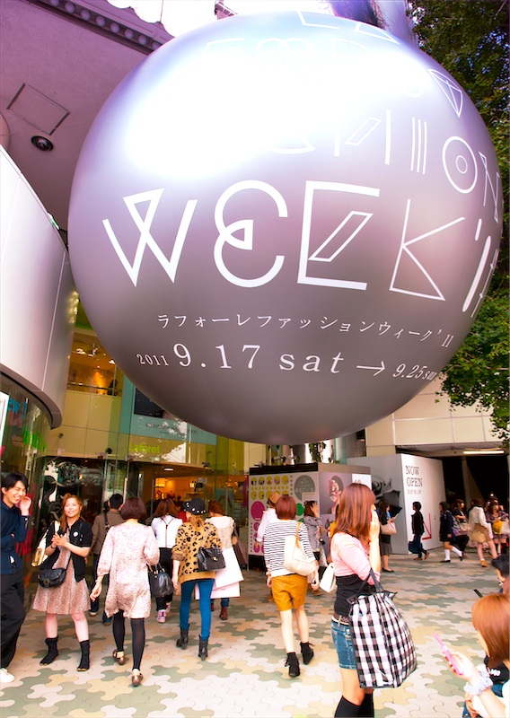 laforet fashion week 2011