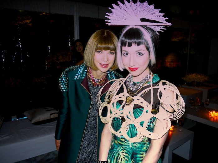 misha janette and anna wintour