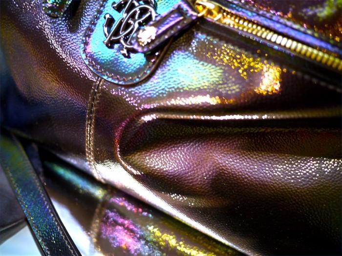 cavalli rainbow oil bag