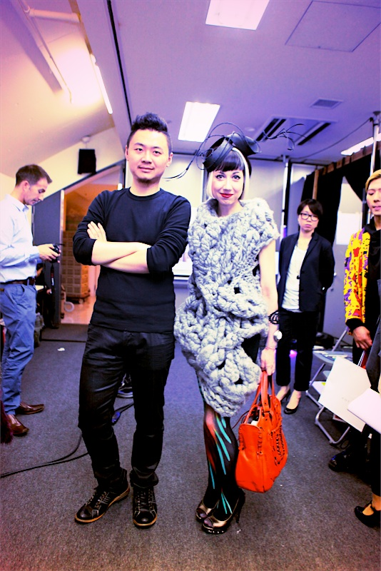 misha janette with johan ku in tokyo 2012 ss