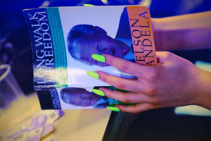 glowing nails and nelson mandela