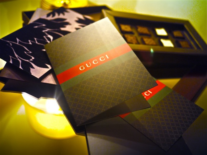 gucci show invitation