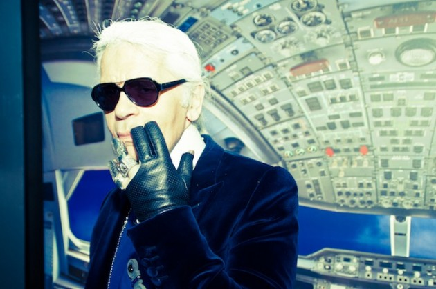 karl lagerfeld come to tokyo