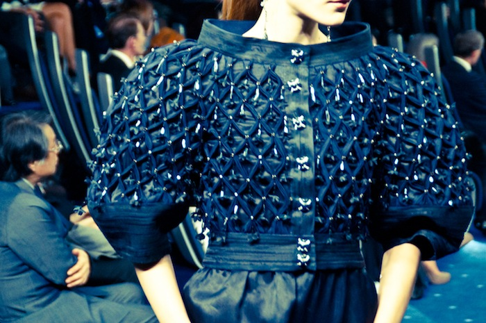 couture chanel ss 2012 tokyo detail