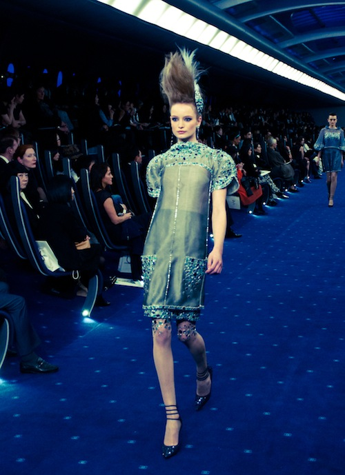 couture chanel ss 2012 tokyo dress