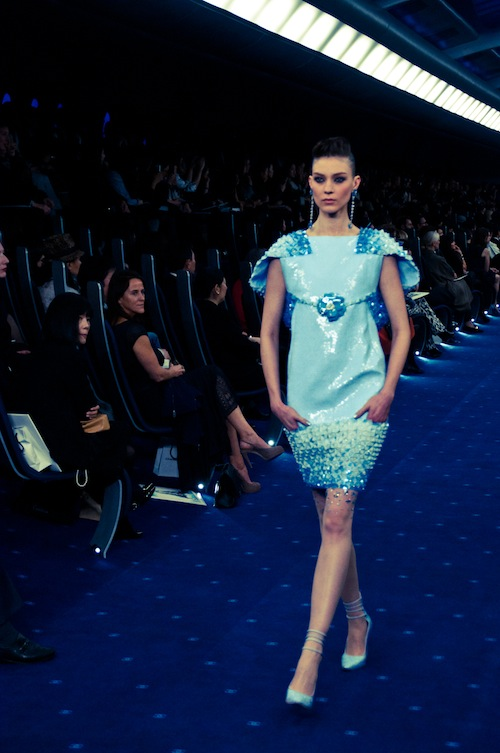 couture chanel ss 2012 tokyo blue