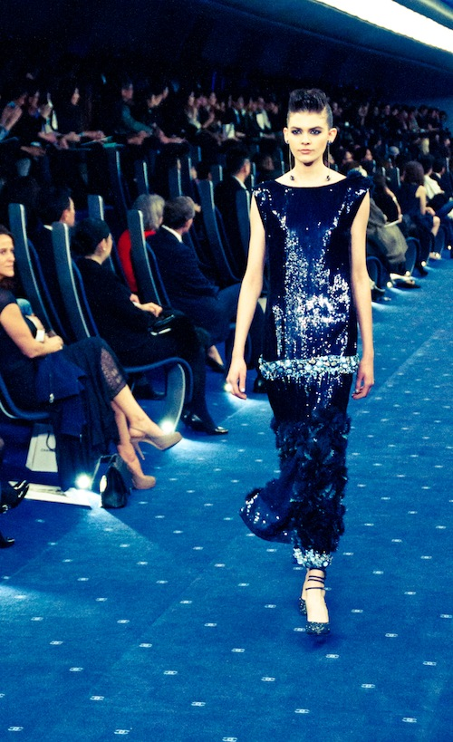 couture chanel ss 2012 tokyo noir