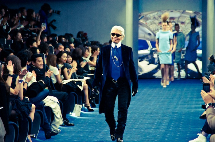 karl lagerfeld couture show in tokyo finale