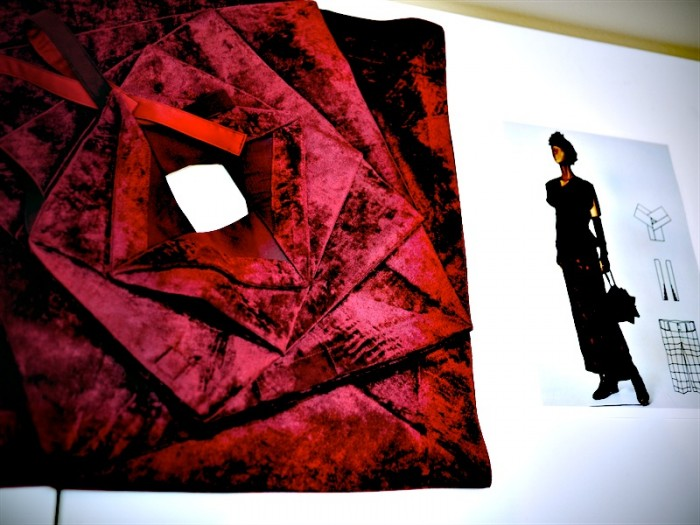 velvet origami