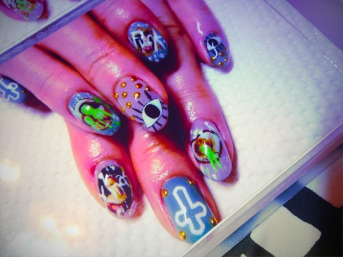 nagisa disco nails