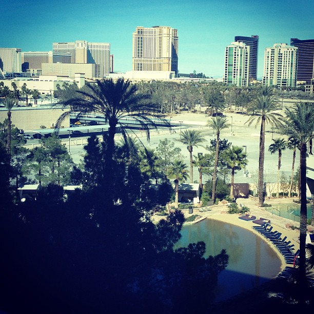 ????????????????HRH????????if you can't be by the ocean, make your own. HRH hotel in #vegas