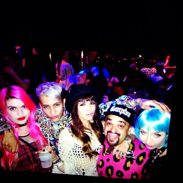The bestdressed in the club. New friends #joyrich ??????????????????????? @funkyfantastic #lasvegastfd