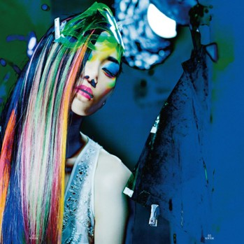 NIGHT DREAMER IN NEON, GOTHIC BEAUTY FOR A DIGITAL AGE. NEW STYLING WORK FOR NEWTIDE MAGAZINE!