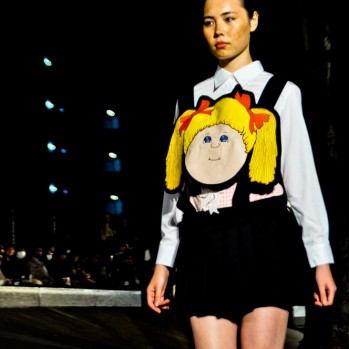"Cabbage Patch Dolls, Chinese Idols of the 80s, Karaoke, and a Totally Straight Face. Subversive ""Otaku"" Jenny Fax SS 2014 Tokyo"