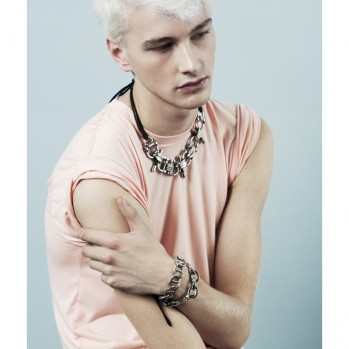 Androgynous Bad Boy Benjamin Jarvis for Androgynous Bad Girl Maiko's Black Triangle Design