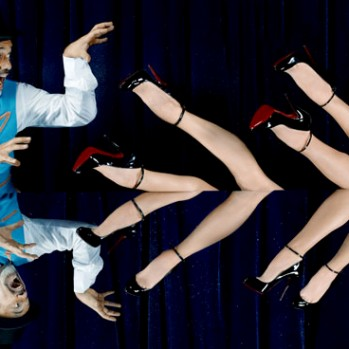 Christian Louboutin and the World's Craziest Burlesque Show Together Means FIRE!