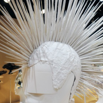 "The Man Who Turned Down Bjork. Hair Genius Kamo Katsuya's Masks and Revolutionary Hats on Parade at ""100 Headpieces"""