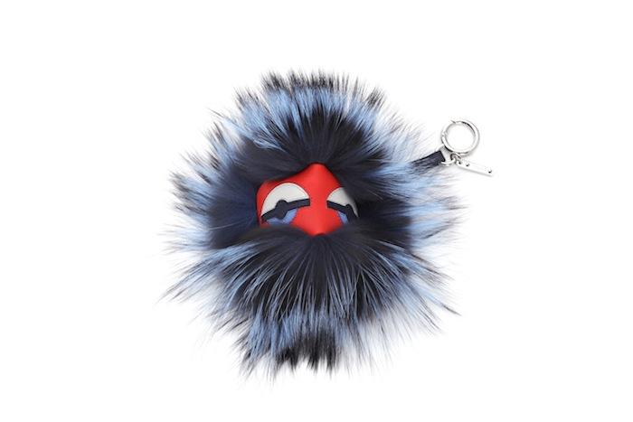 Fendi-bag-bugs-keychain NUTTY