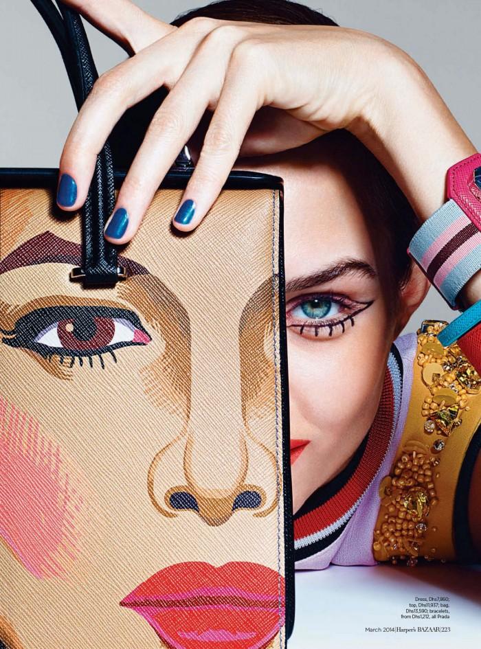 Harper's Bazaar Arabia - March 2014