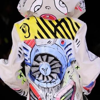 Yohji Yamamoto goes chaotic OTAKU for Fall 2014 ◎ヲタク化したヨージヤマモト2014年秋冬