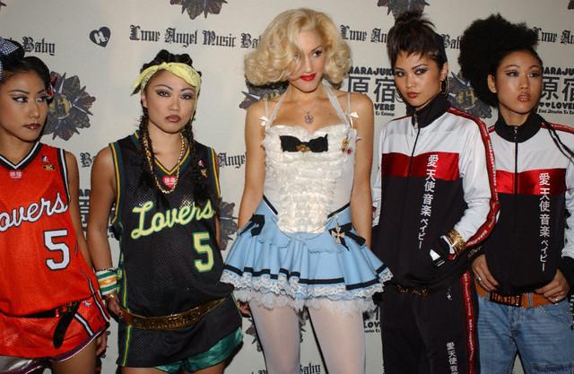 "Gwen Stefani Launches ""Harajuku Lovers"" Fashion"