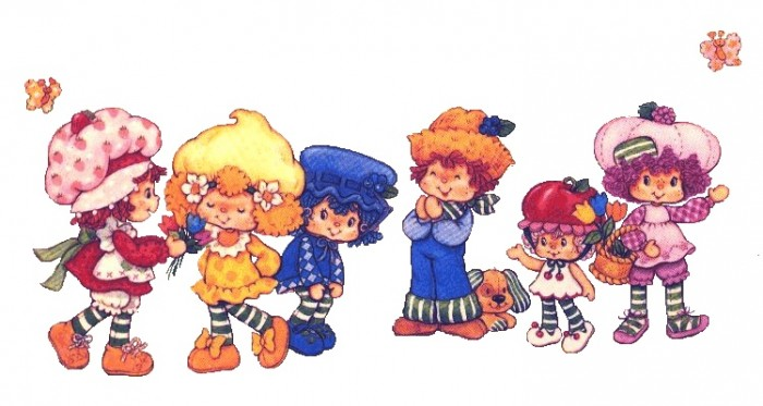 cartoons-Strawberry Shortcake and Friends