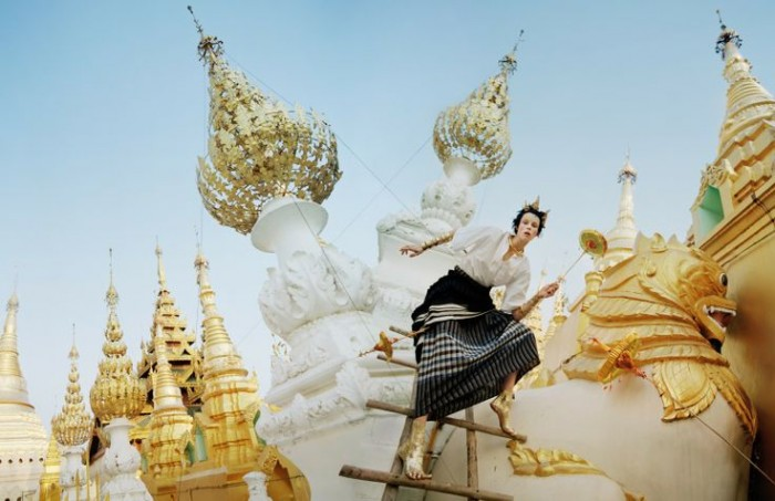 tim walker Gilt Trip - Dolce may 2014 2