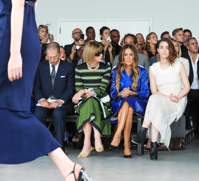 CALVIN KLEIN Women's Spring 2015 Collection Runway Show