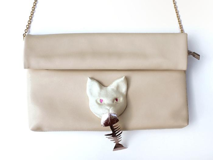 3D bag 2way 【cat】