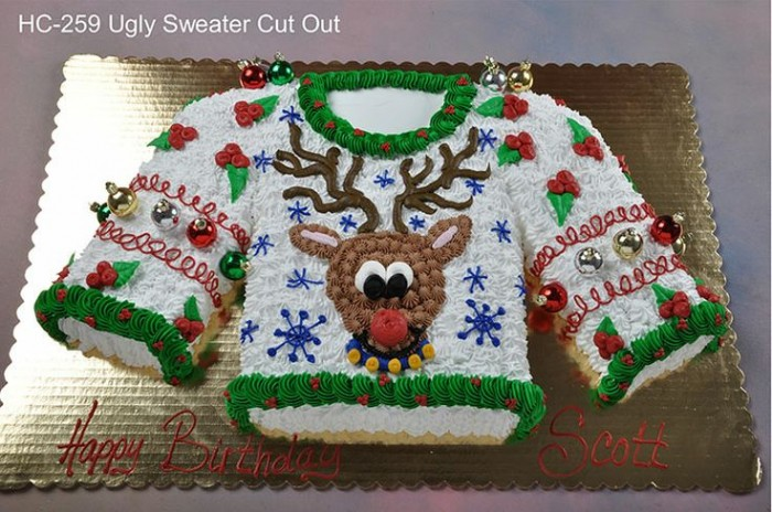 ugly-sweater-cake