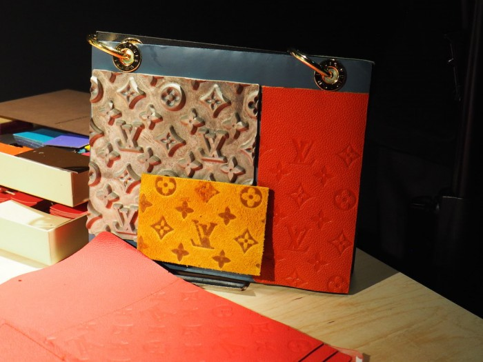 item at the louis vuitton volez voguez voyagez Tokyo exhibit