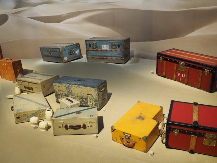 desert at the louis vuitton volez voguez voyagez Tokyo exhibit