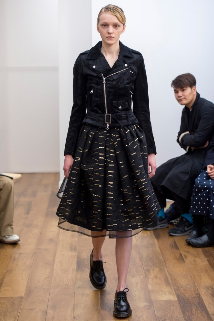 Kei Ninomiya Noir skirt for 2015