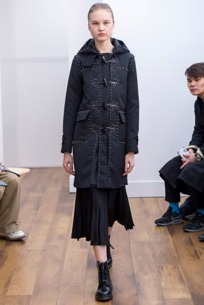 Kei Ninomiya Noir dress for 2015 jacket