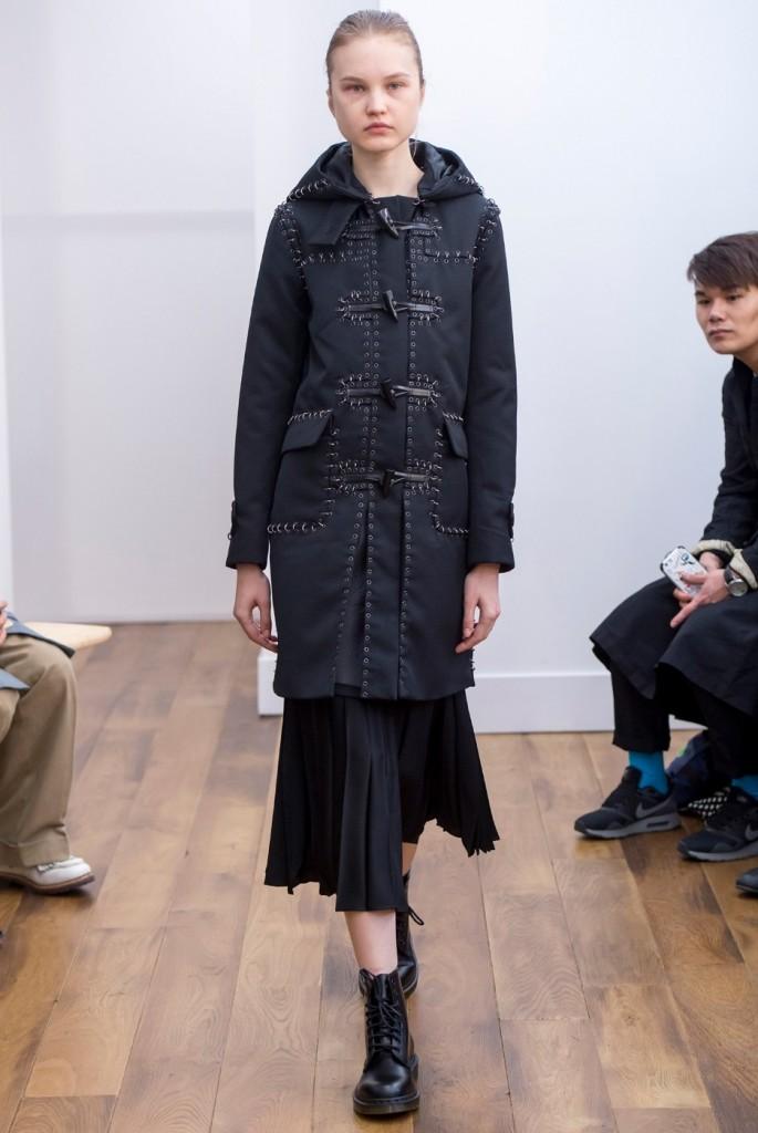 Kei Ninomiya Noir dress for 2015 jacket